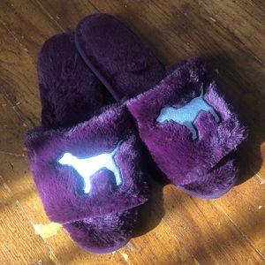Pink Purple Slippers